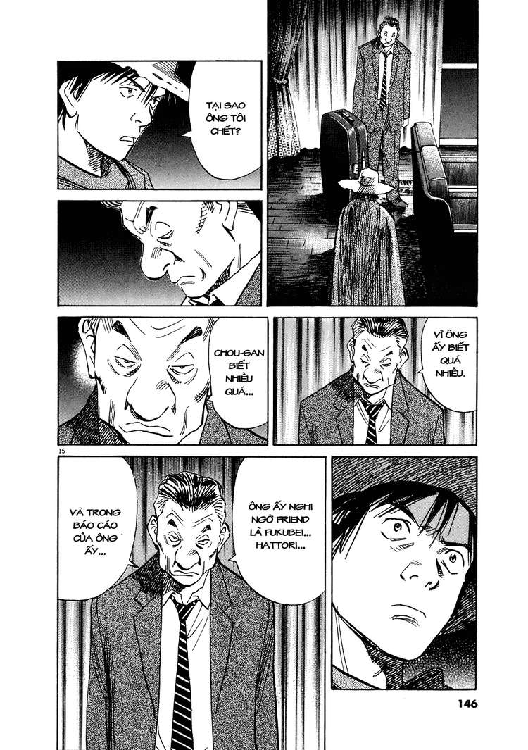 20th Century Boys chapter 244 trang 37
