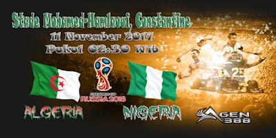 AGEN BOLA ONLINE TERBESAR - PREDIKSI SKOR KUALIFIKASI PIALA DUNIA ALGERIA VS NIGERIA 11 NOVEMBER 2017