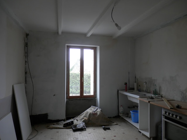 French kitchen renovations. Huelgoat. Brittany