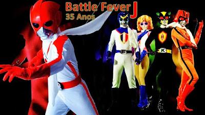 Battle Fever J Completo
