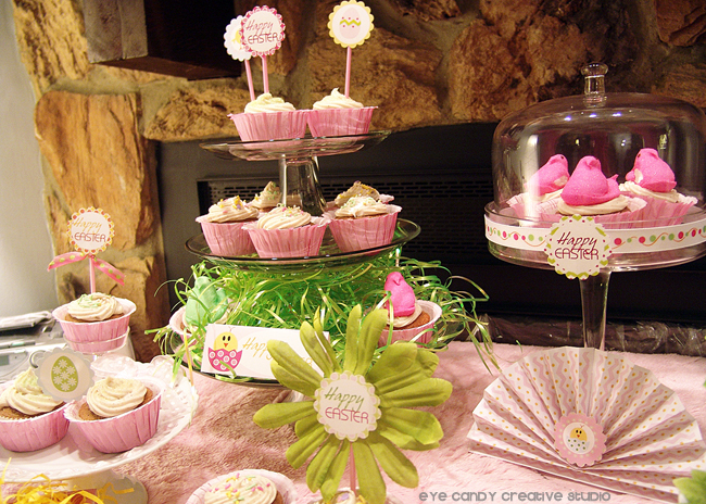 peeps, cupcakes, peeps cucpakes, easter dessert ideas, easter party