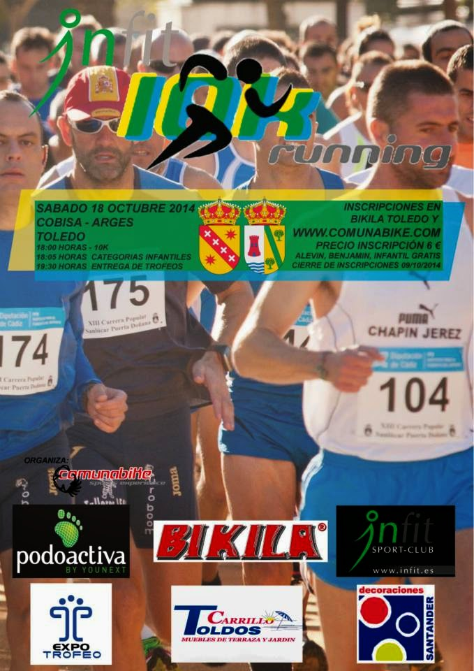 Carrera Popular 10 Km  Argés-Cobisa