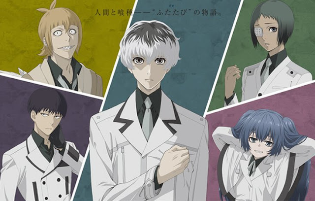 Manga Tokyo Ghoul:re ha entrado en su arco final
