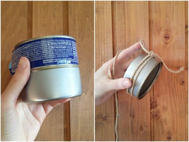 Čišćenje konzervi i vezanje špage