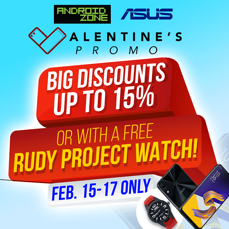 Android Zone announces ASUS post Valentine's promo