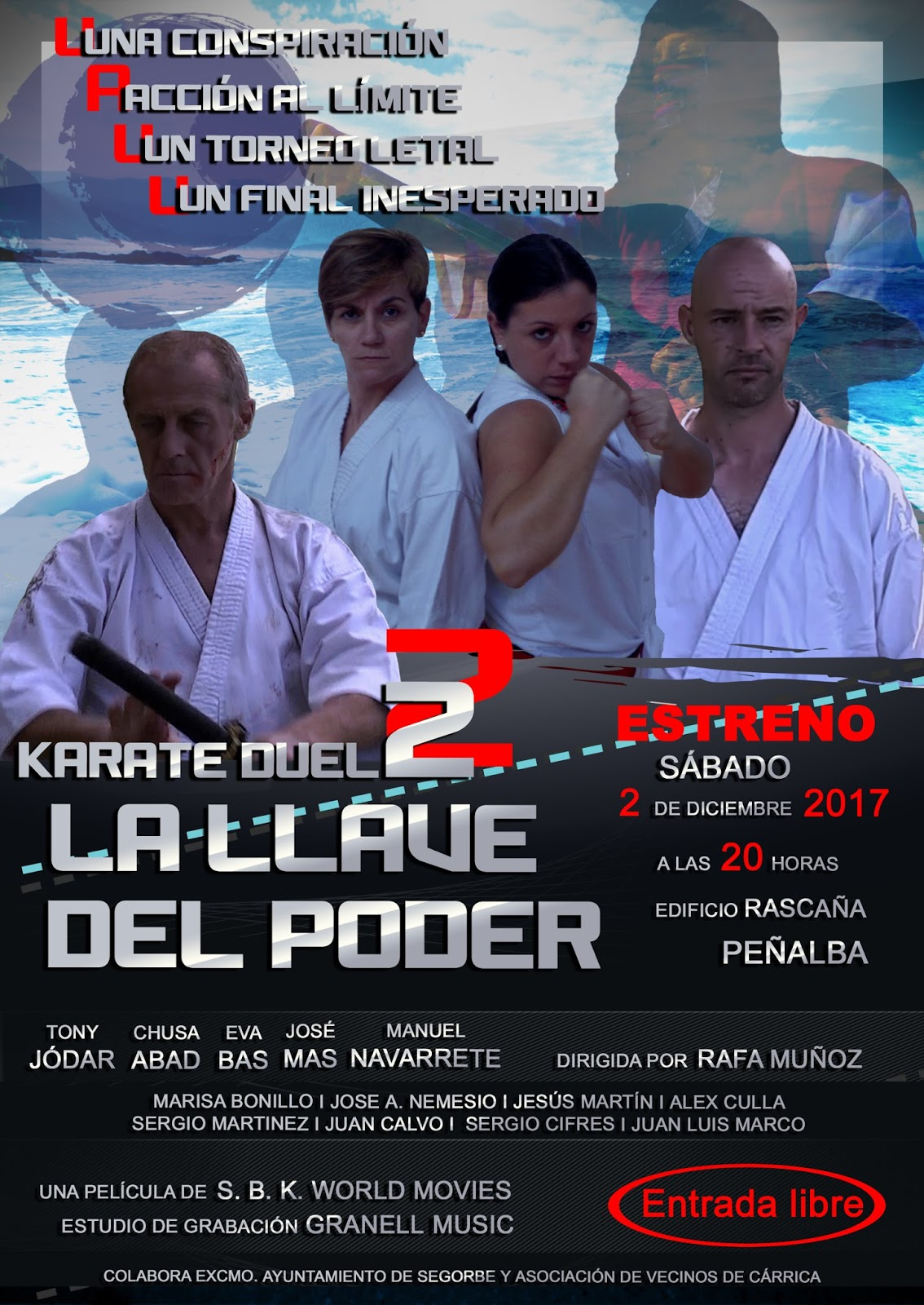 Seiki Budo Karate: La llave del poder, Karate Duel 2