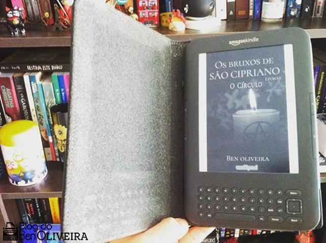 Kindle Capa Bruxos São Cipriano Círculo Ben Oliveira