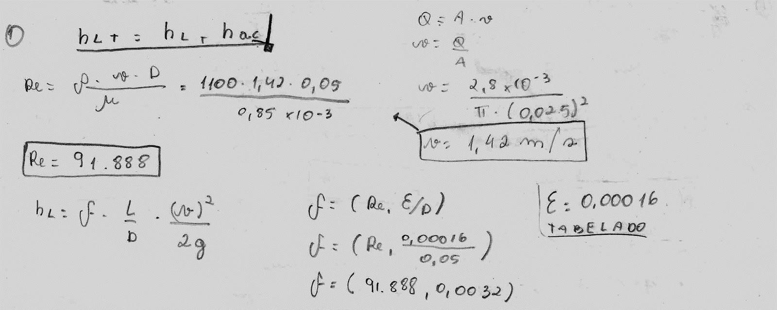 Tudo engenharia civil perda de carga total e dos acessorios calcule a perda de carga total ccuart Image collections