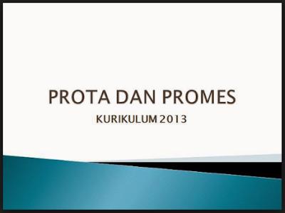 Prota dan Promes Kurikulum 2013 SD/MI Kelas 2 Revisi 2017