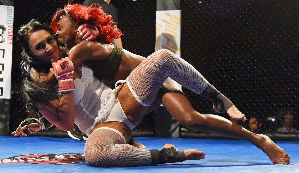 Warm Naked Mma Girl Fight Images