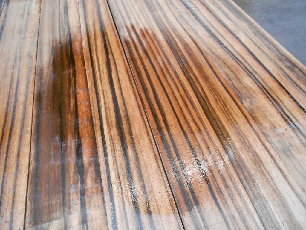 Tropical Exotic Hardwoods: Asian Striped Ebony, beautiful ...