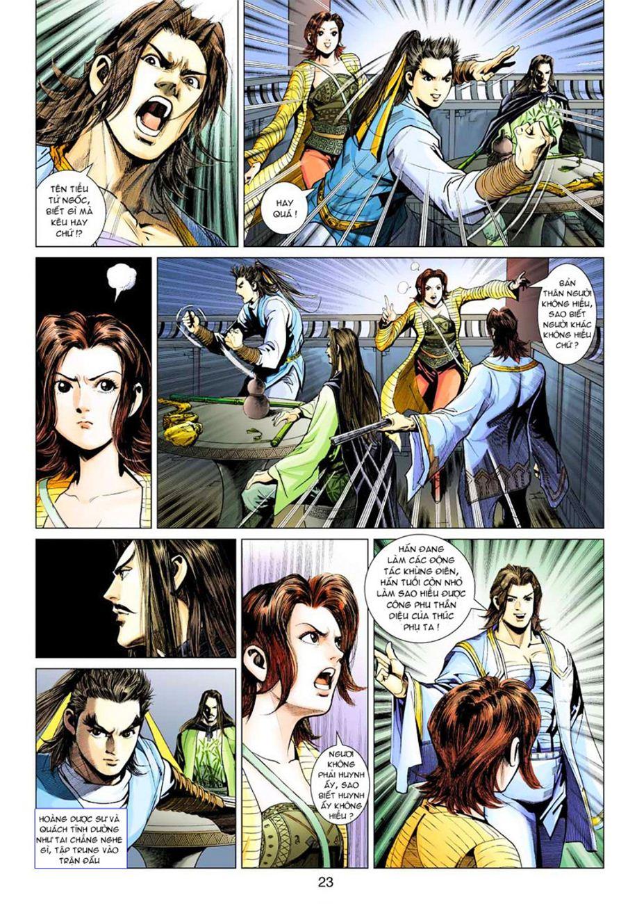 Anh Hùng Xạ Điêu anh hùng xạ đêu chap 45 trang 23