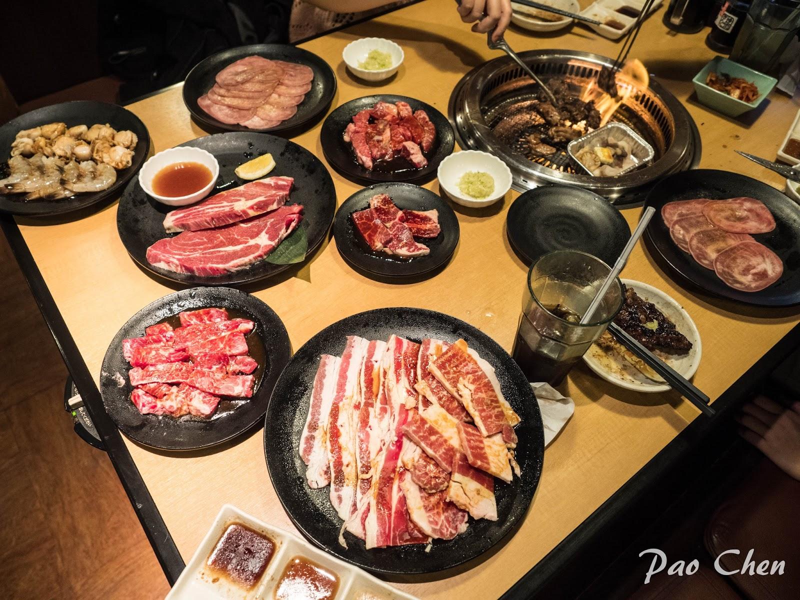 小社工飽螺的吃吃喝喝: [日本 沖繩] 2017年大推沖繩高品質燒肉吃到飽 - 焼肉きんぐ(燒肉王)
