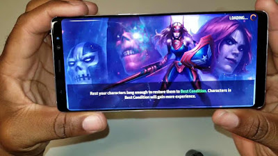 gaming on samsung galaxy note 8 review