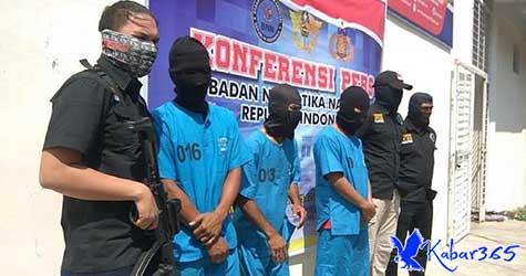 BNN Aceh Sita 20 Kg Sabu dari DPO Sindikat Internasional