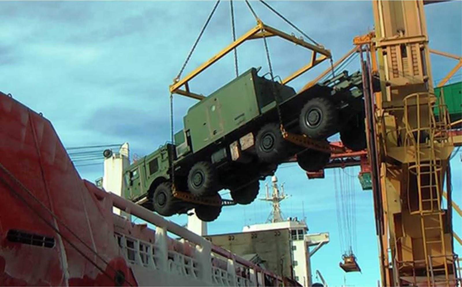 Komplek rudal pesisir Bal baru tiba di Armada Pasifik Rusia