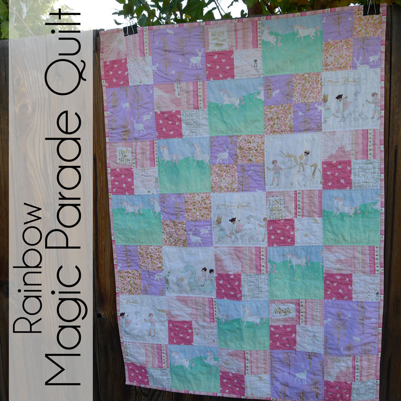 Pieces By Polly Rainbow Sarah Jane Magic Quilt