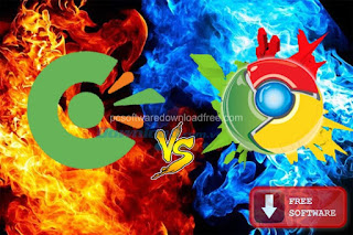 Compare Coc Coc Viet Nam and Chrome browser