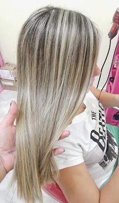 Passo a Passo de Mechas na Touca Acinzentadas Grey Hair
