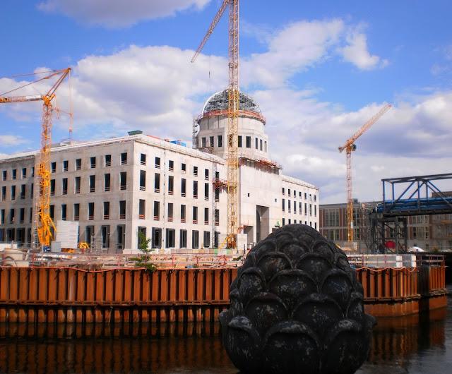 reconstrução do Stadtschloss em Berlim - 2015