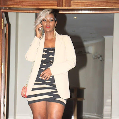 Uganda Curvaceous Songstress- Desire Luzinda Admits To Using Body Enhacement Products!