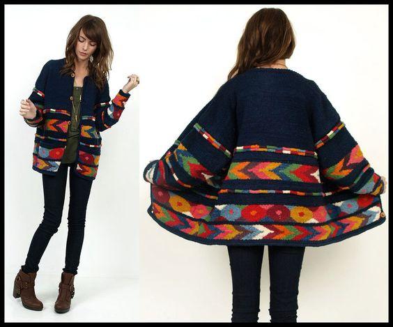 Sweter w pięknych kolorach