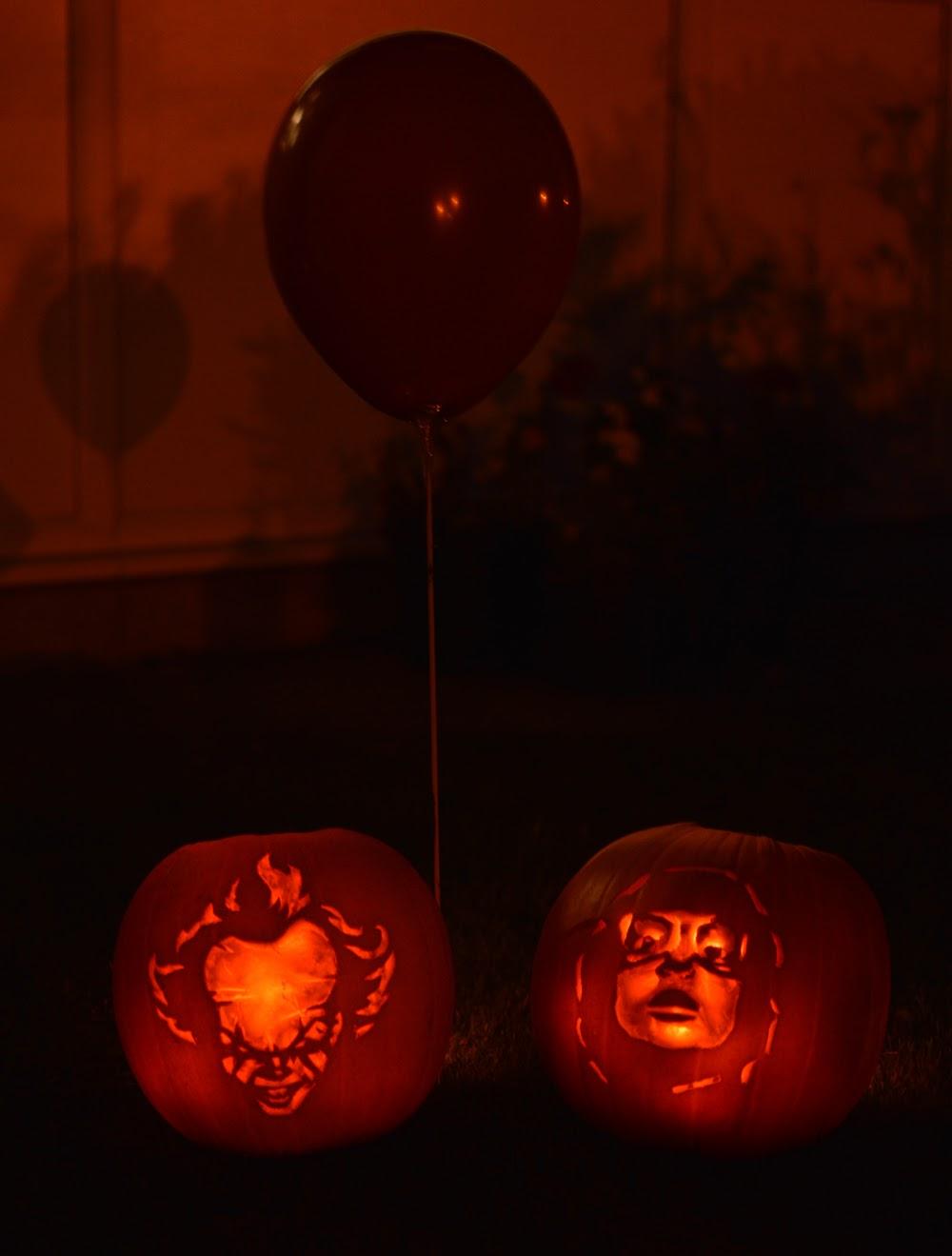 Pennywise & Richie Tozier Pumpkin Lantern