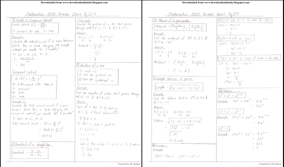 Download & Study: IGCSE_Mathematics_Formula_List_Scanned