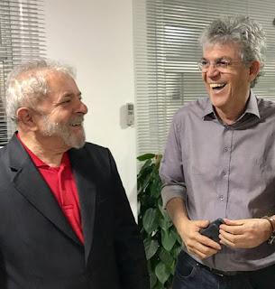 Ricardo visita Lula na sede do PT em São Paulo e debate cenário político