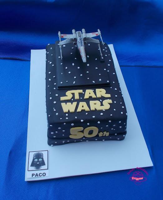 Tarta Star Wars fondant