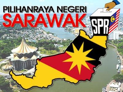 Keputusan Penuh Pilihan Raya Ke 11 Sarawak Tahun 2016
