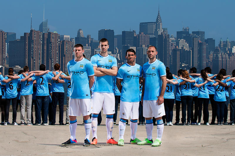 325e8e7ae52 Looking Forward to Puma? Here Are All 18 Nike Manchester City Kits ...