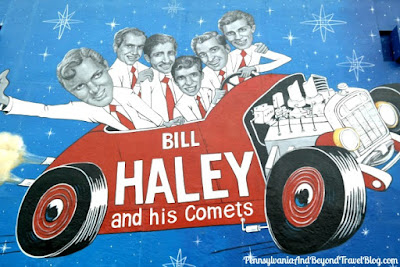 Bill Haley and his Comets Doo Wop Musical Icons Wall Mural in Wildwood New Jersey