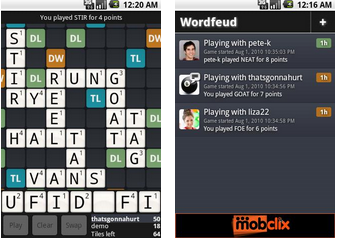 Wordfeud FREE for Android Phones