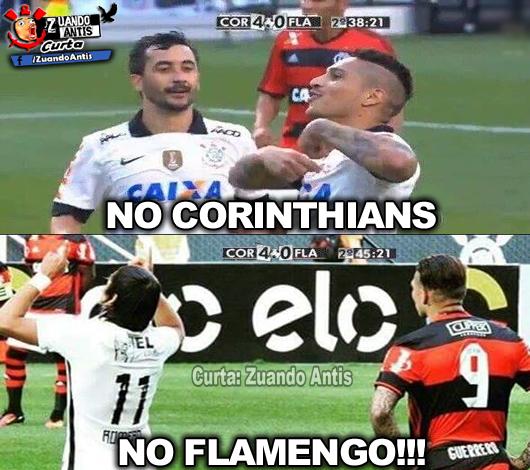 Guerrero No Corinthians No Flamengo Zuando Antis