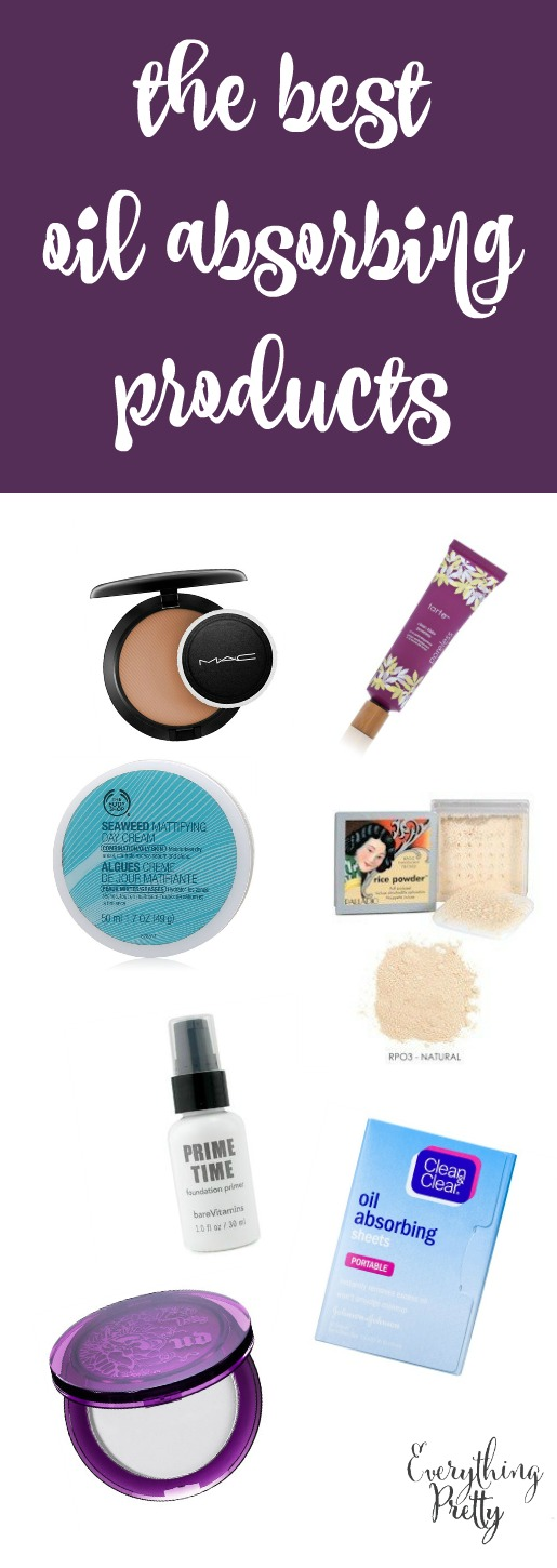 The best oil absorbing products for a flawless look all day.