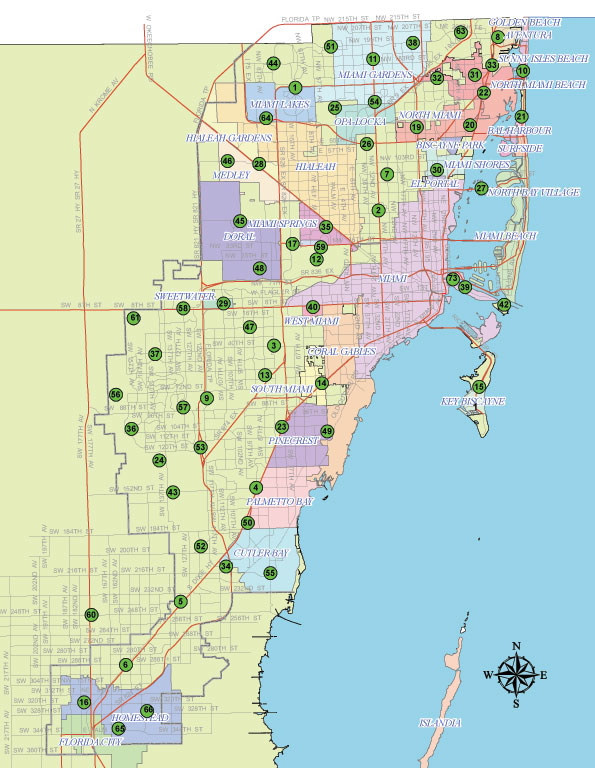 West Palm Beach Fort Lauderdale Miami Population
