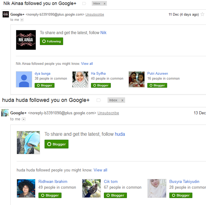 Cara Tambah Follower Google Profile