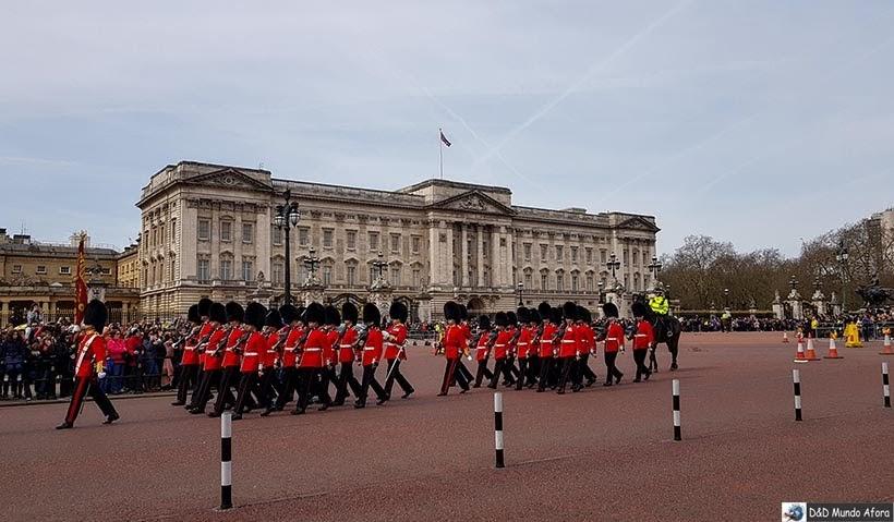 Roteiro: 5 dias em Londres - Troca da Guarda