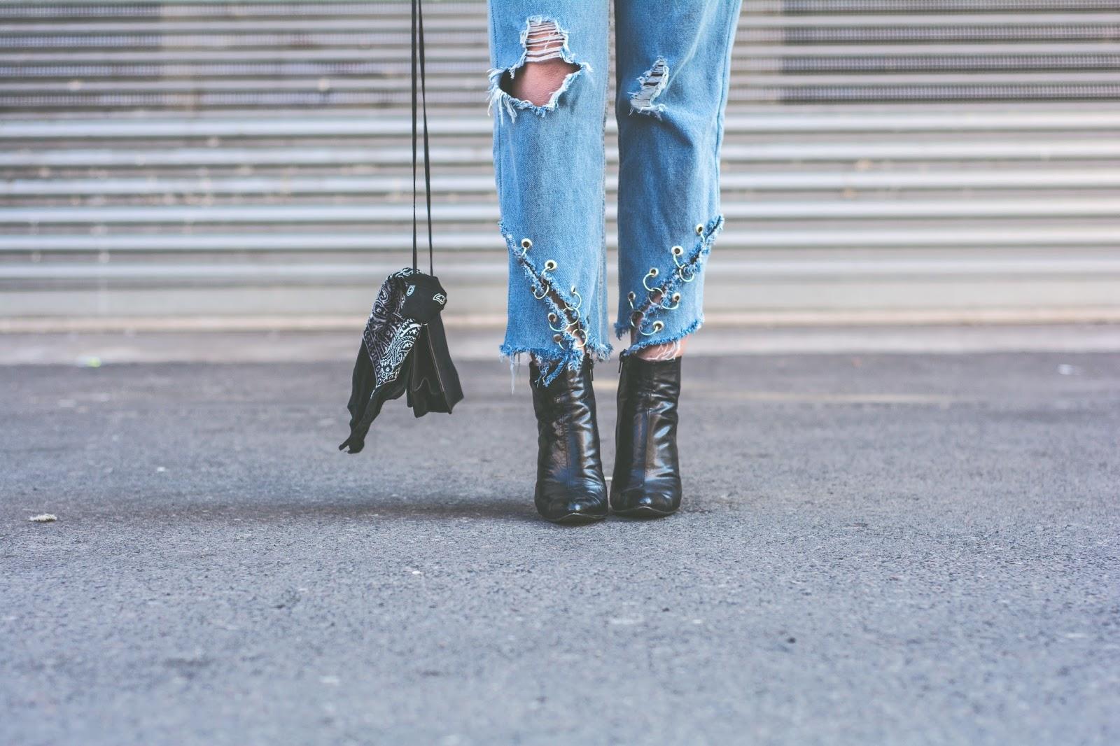 handmade jeans