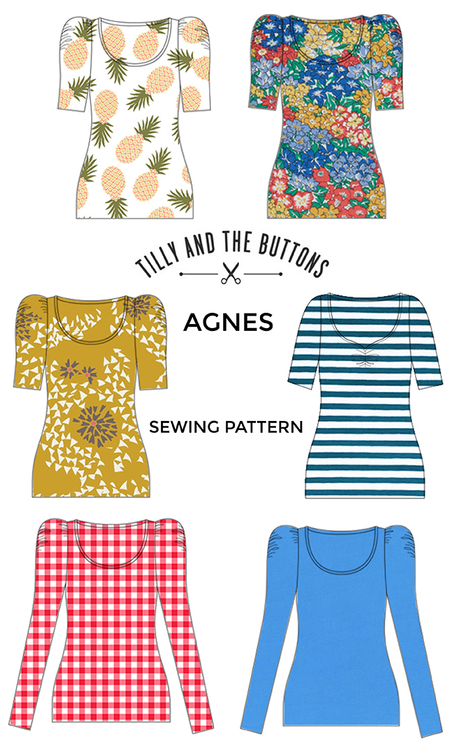 Fabric ideas for the Agnes sewing pattern