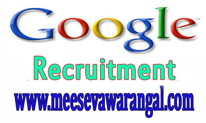 Google Recruitment Jobs 2016-2017 For Freshers