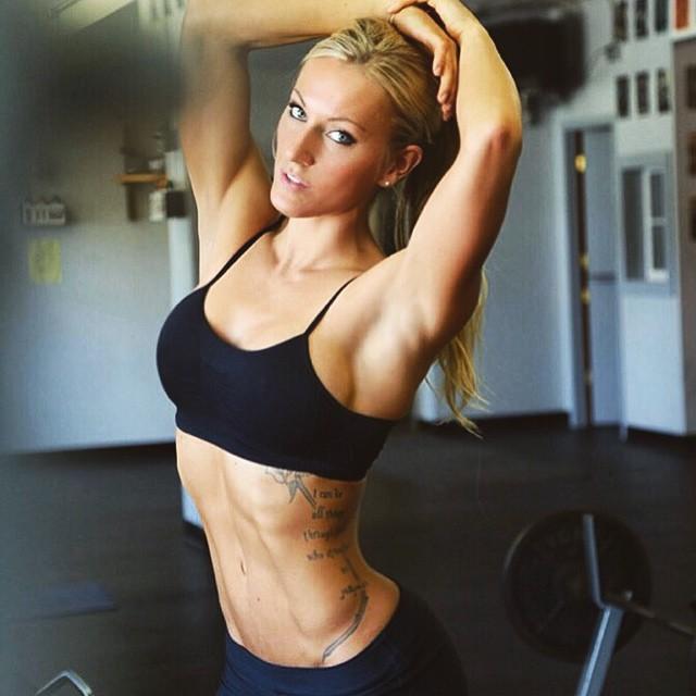 Fitness Models Rebekah Willich 1