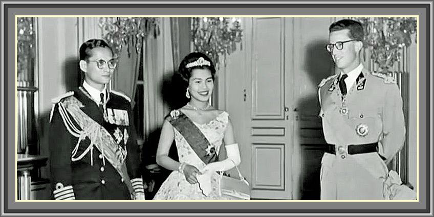 Bhumibol Adulyadej, Thai, ภูมิพลอดุลยเดช,  ประเทศไทย,roi, Baudouin,ROIS DU SIAM ,Dynastie Chakri, ราชวงศ์จักรีチャクリー王朝タイ王国, genève,king, thailand, rauyauté belge, koning, fabiola, เบลเยียมกษัตริย์โบดวง
