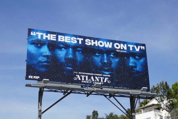 Atlanta Robbin Season Emmy consideration billboard