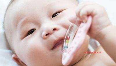 tumbuh gigi pada bayi yaitu ingin menggigit segala sesuatu