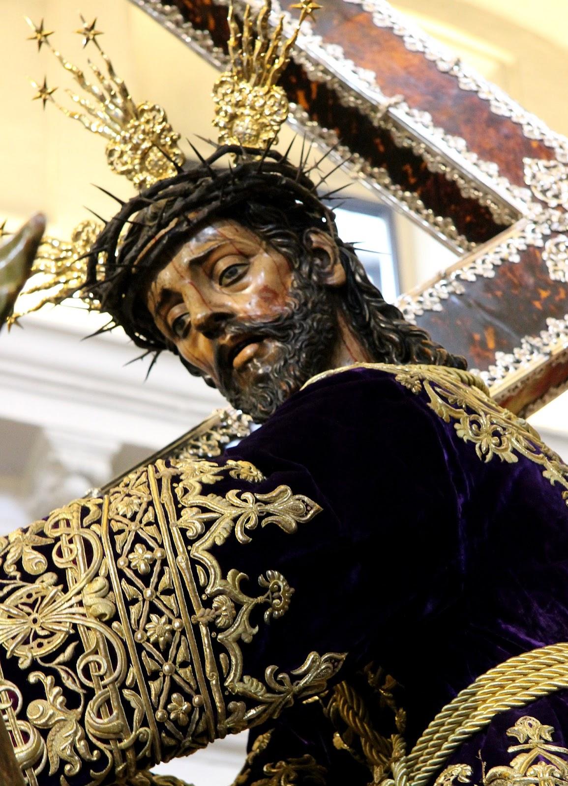 Resultado de imagen de Imagen de Nuestro Padre Jesús Nazareno (El Silencio)