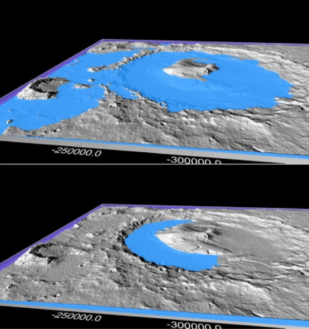Climate cycles may explain how running water carved Mars' surface features