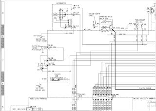 ELECTRICAL CIRCUIT DIAGRAM D31EX-22 PART 3