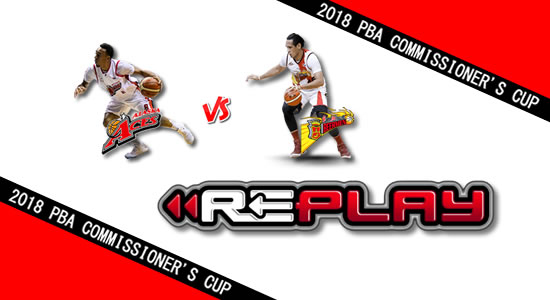 Video Playlist: Alaska vs SMB game replay May 19, 2018 PBA Commissioner's Cup